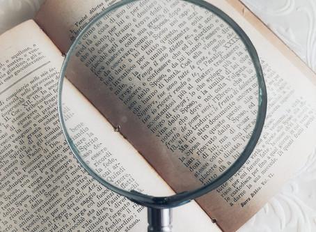 THE MELTING QUIZ, o dell'investigazione letteraria