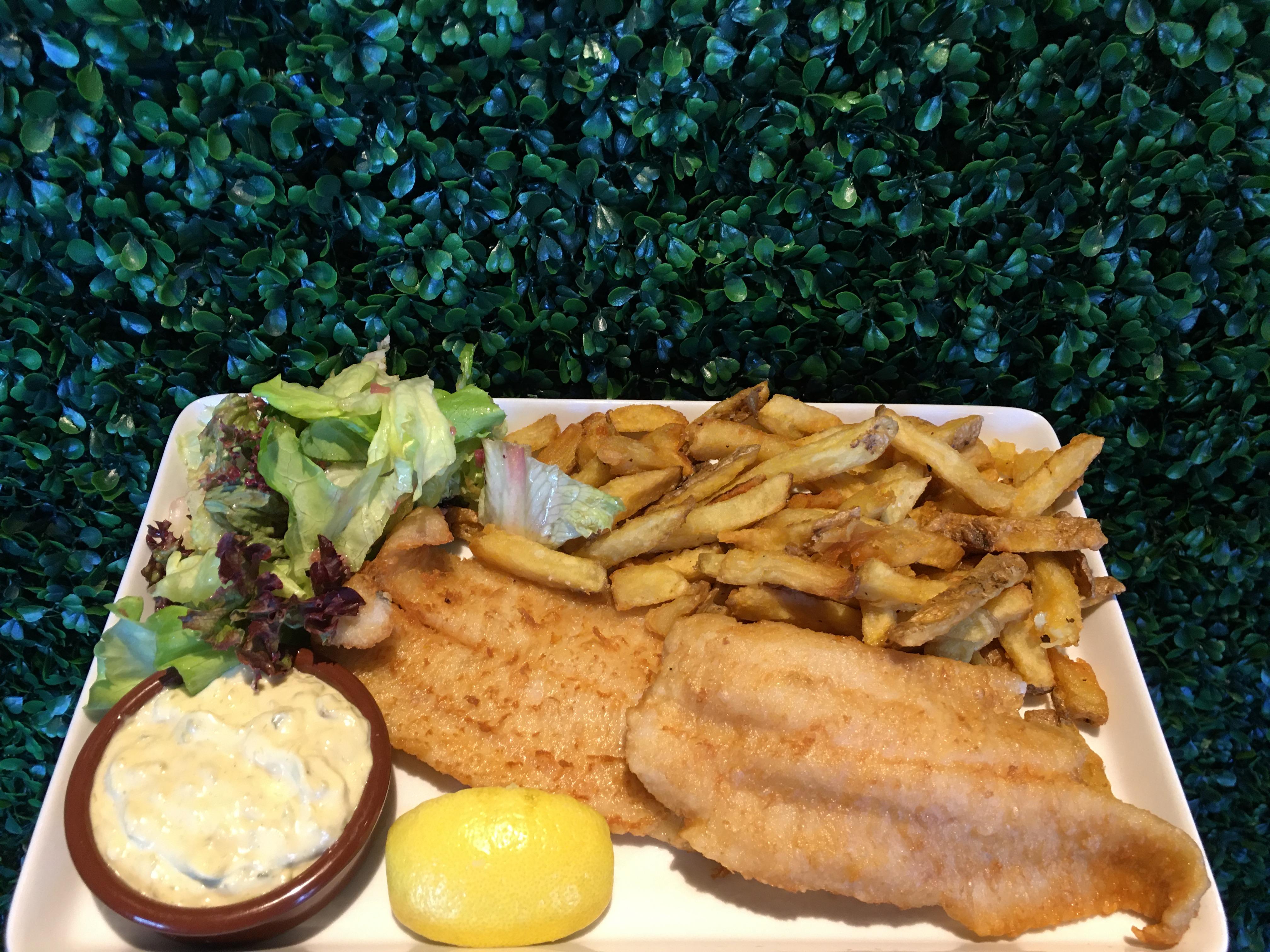 Fish & Chips panure maison
