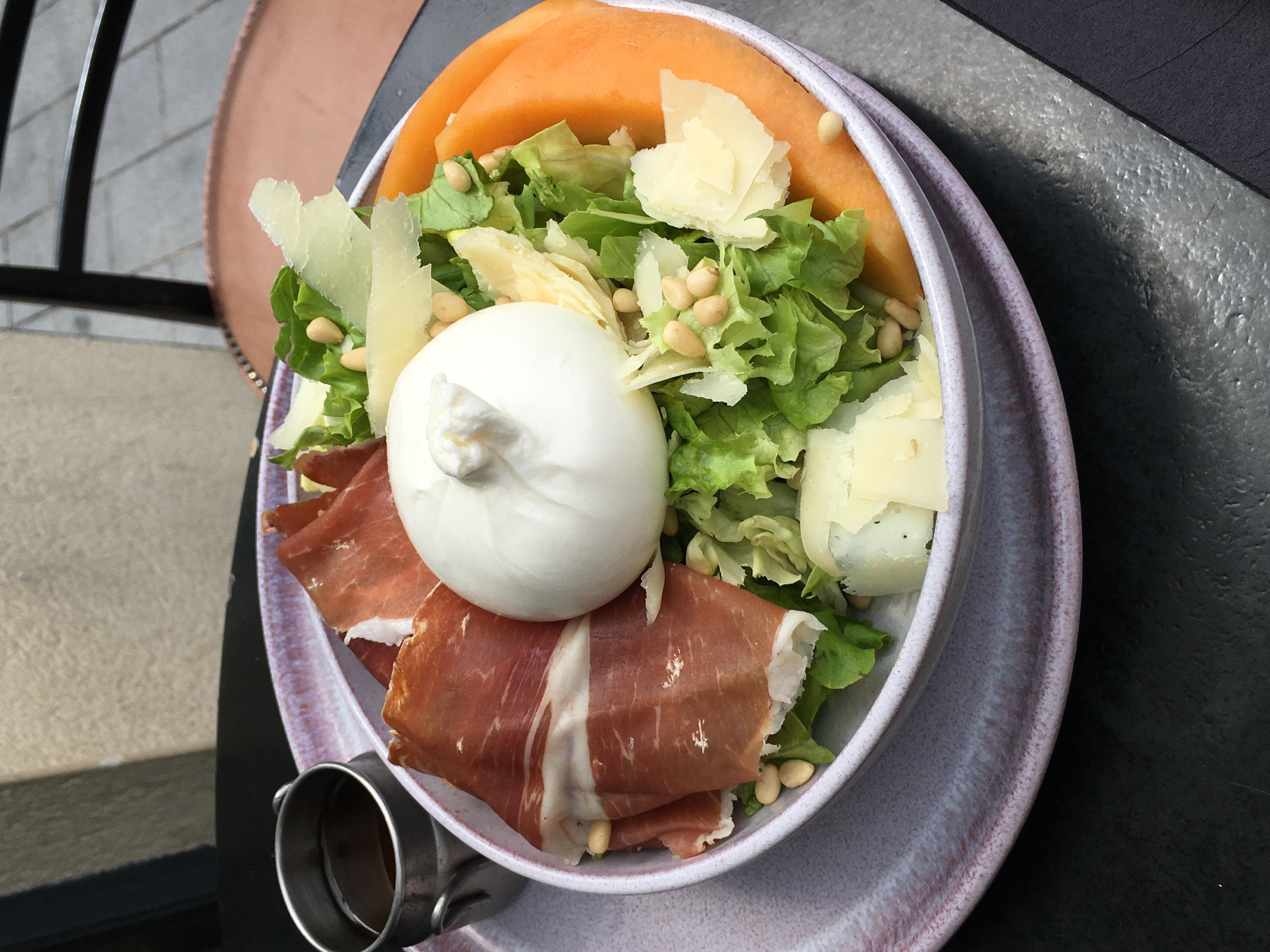 Salade Italienne à la Burratina
