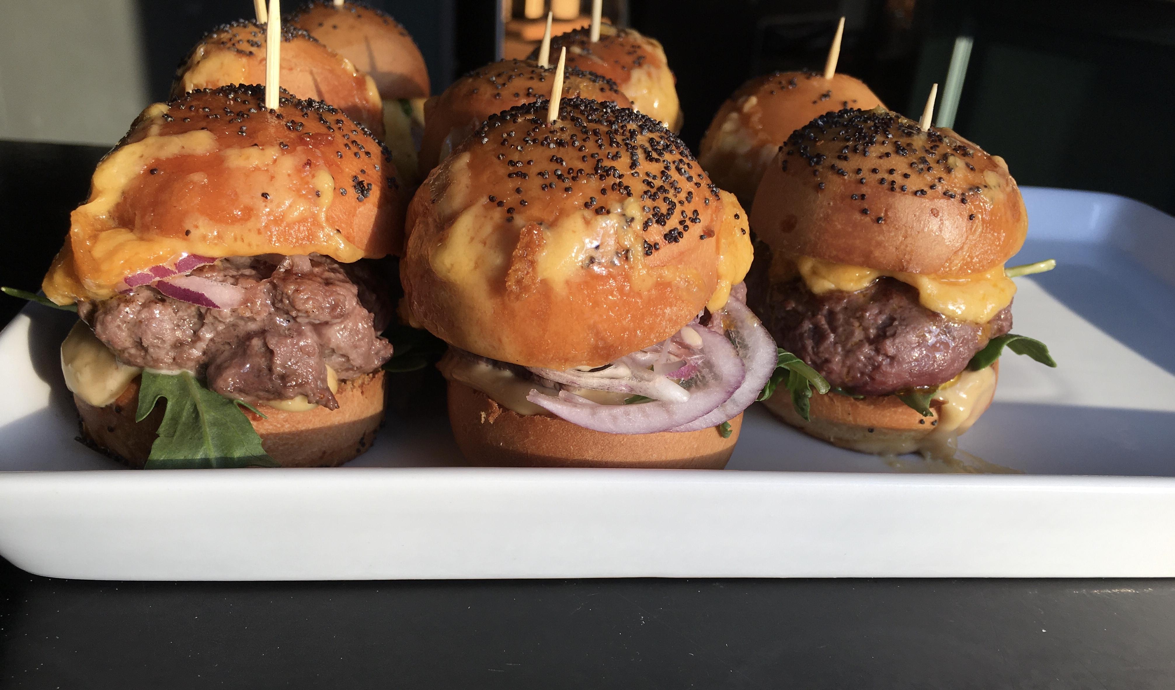 Mini Burgers Cheddar et Roquette