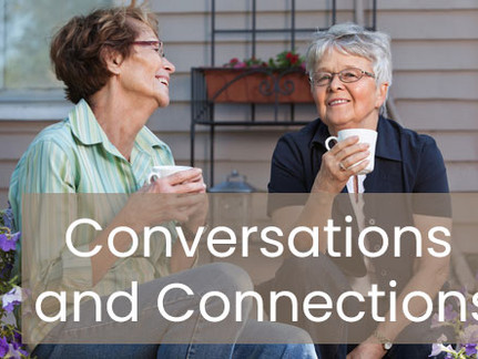 """""""Conversations, connections, and creating opportunities for success…"""""""