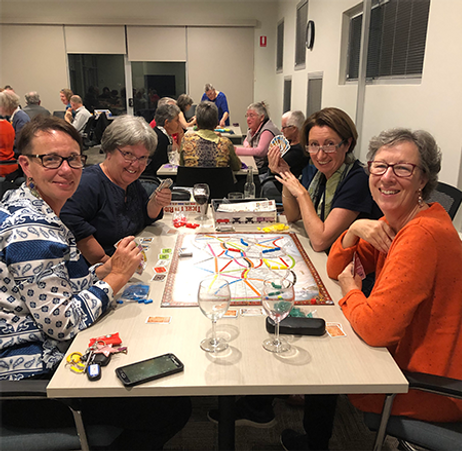 Games night at the West Arthur CRC