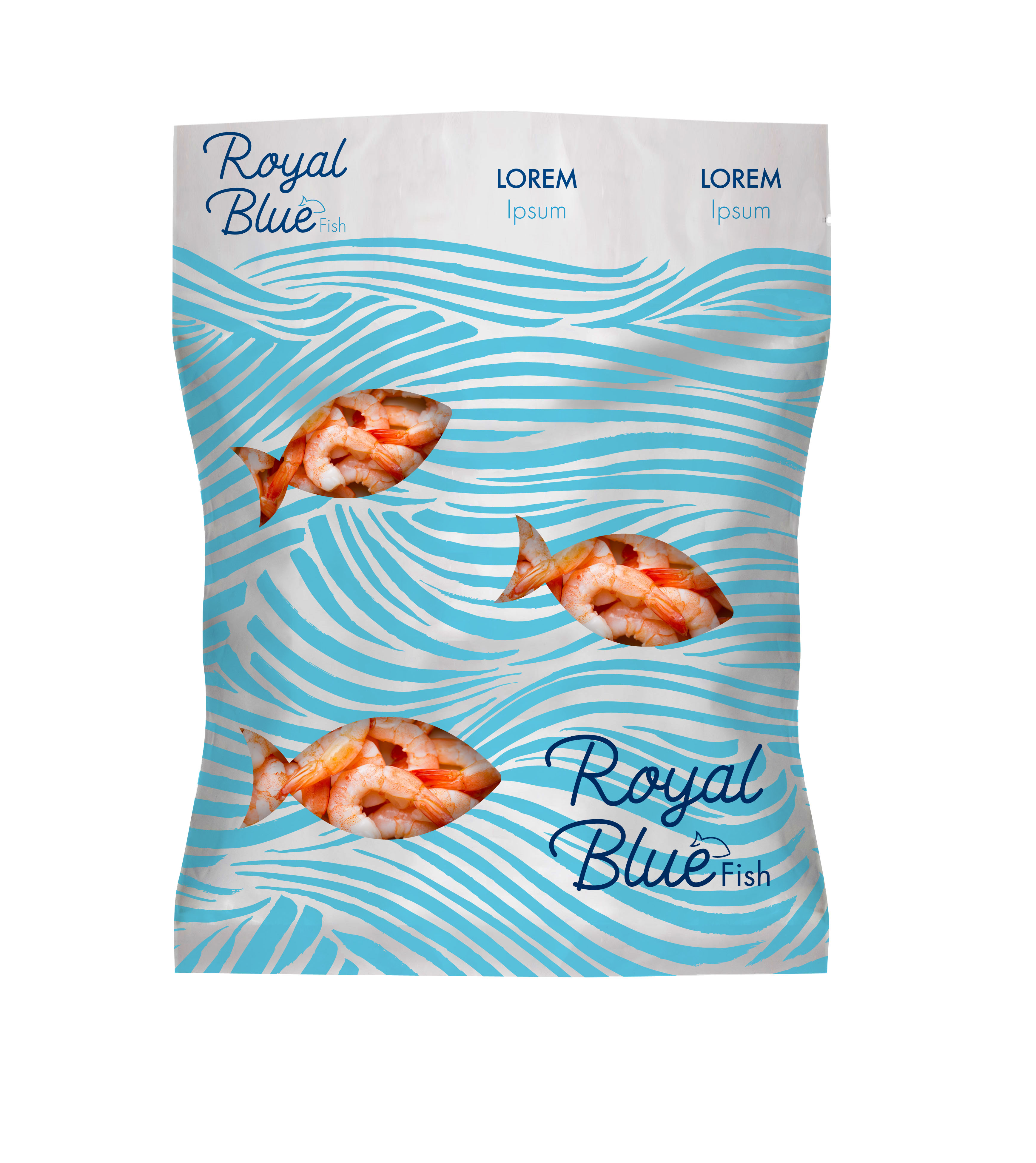 ROYA BLUE - Fish Package