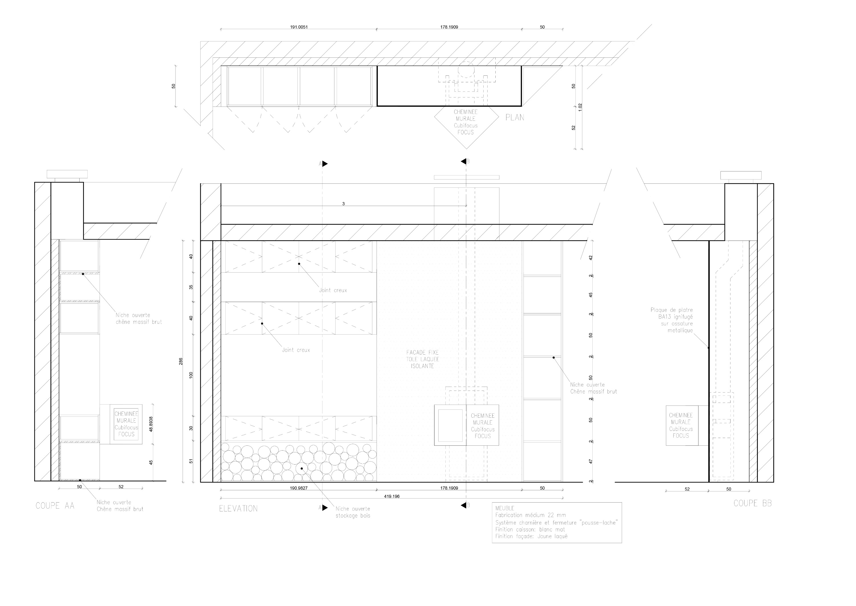 Appartement - Plan d'ouvrage
