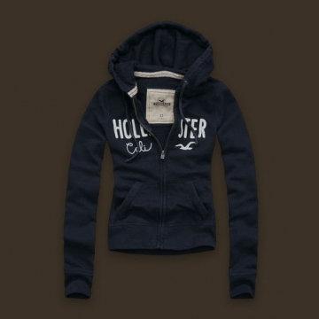 Hollister Hoodie Blue