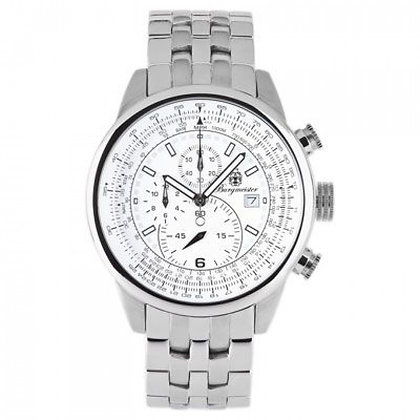 Burgmeister Silver Melbourne Chronograph