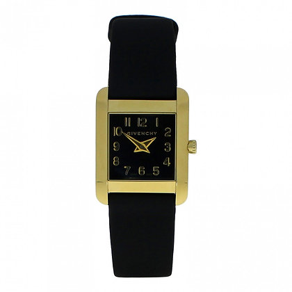 Givenchy Black Gold Leather Patterned Ladies
