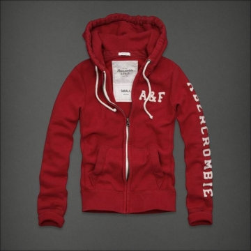 Abercrombie & Fitch Hoodie Red