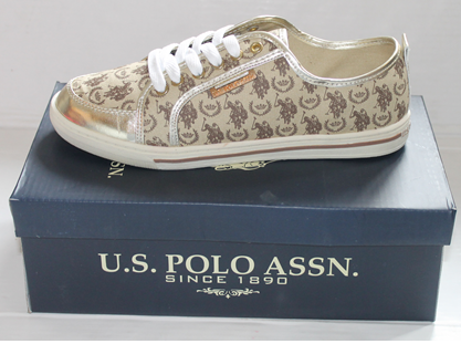 U.S. POLO ASSN TRAINERS GOLD