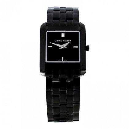 Givenchy Black Ion Plated Square Ladies