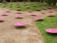 Environnement à Pois Roses, Jardin des arts, Ar'milin