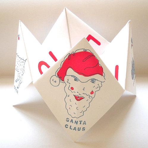 Oversized Christmas Fortune Teller