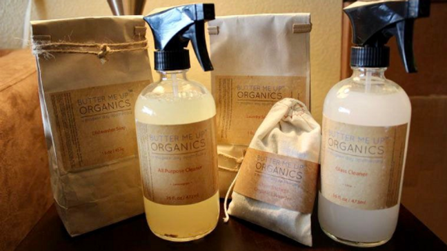 Organic House Cleaning Kit