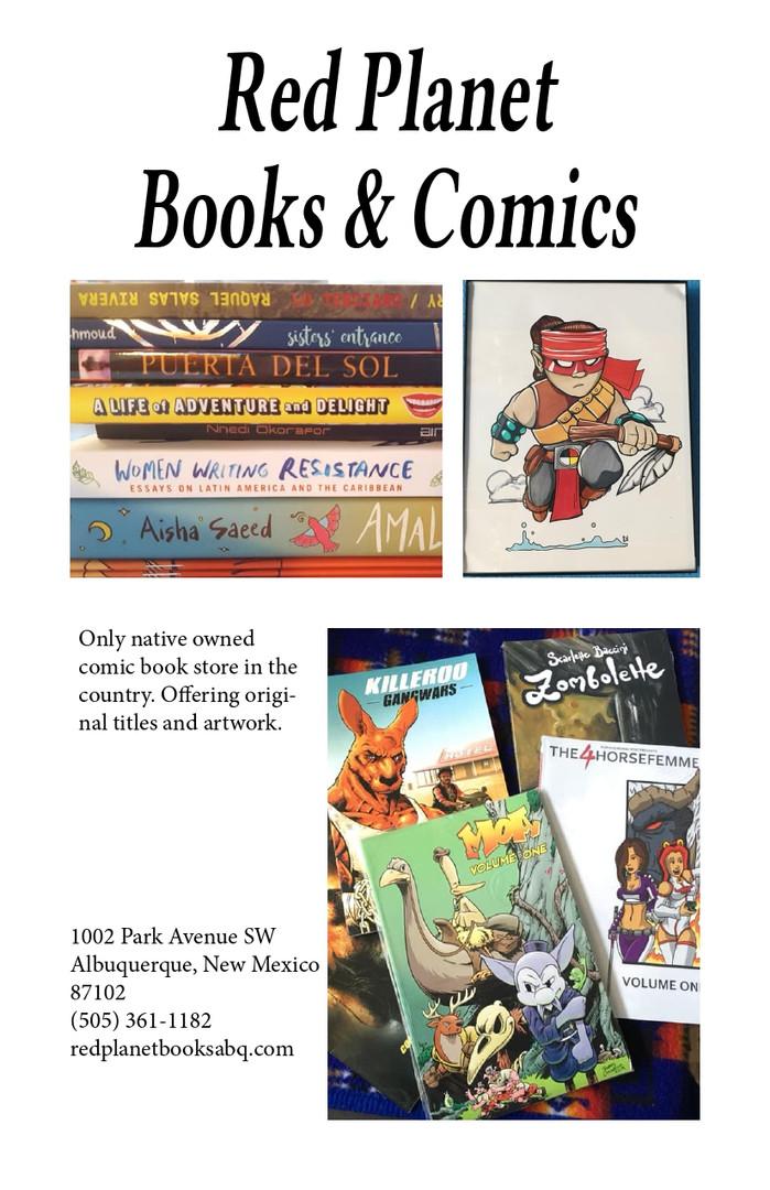 Red Planet Books & Comics