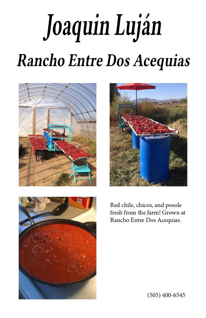 Joaquin Luján Rancho Entre Dos Acequias