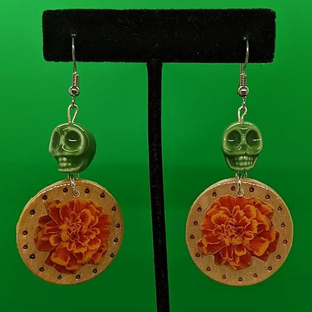 Small Marigold Earings