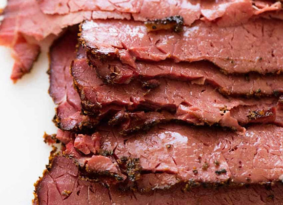 New York sliced pastrami 200gram