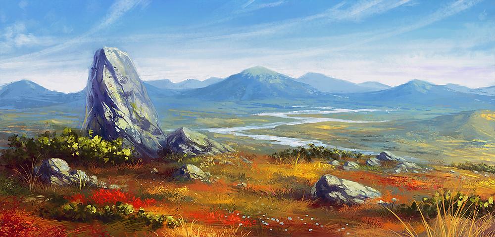 Tundra by Anna Shulgina