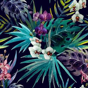 Colorful Leave Print