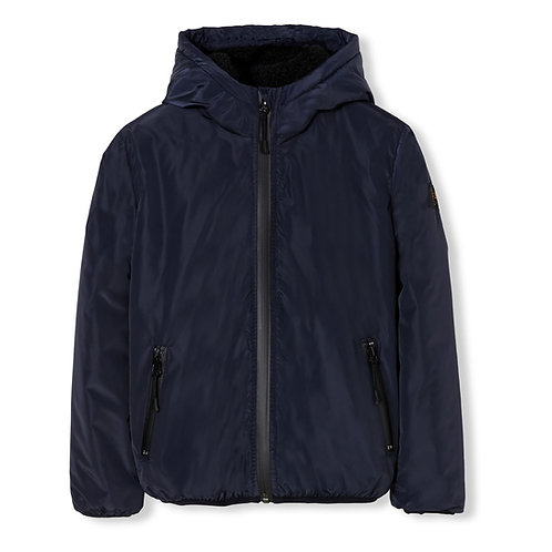 Buckley rain hooded jacket
