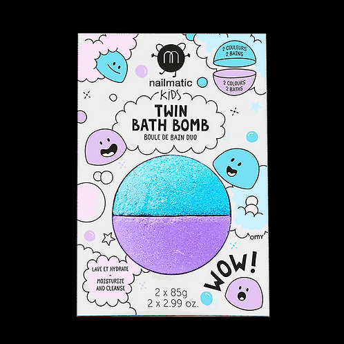 Twin bath bomb