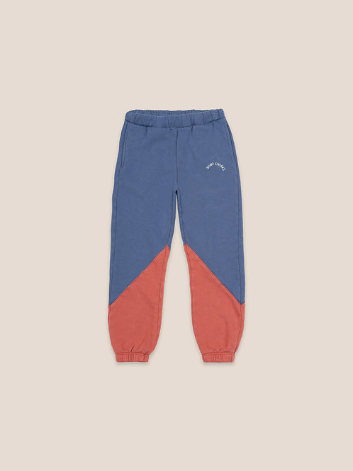 Color block jogging pants