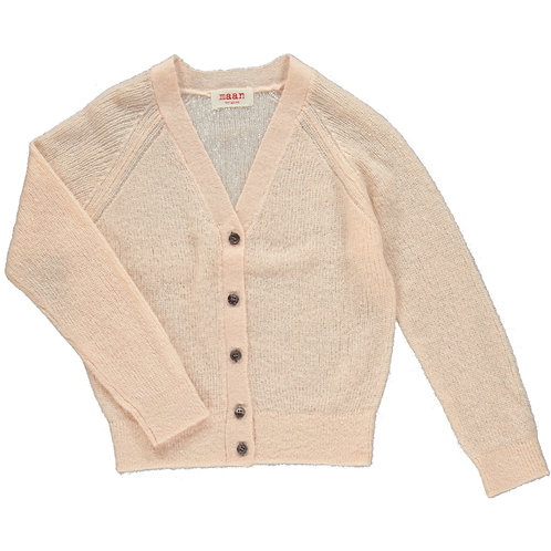 Swing knitted cardigan