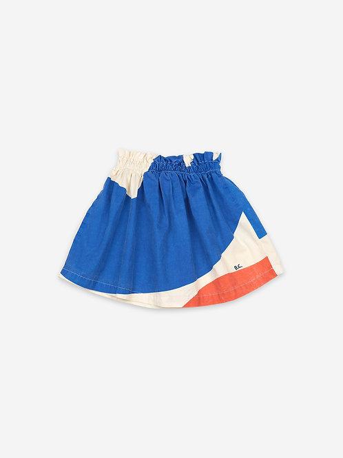 Landscape woven skirt