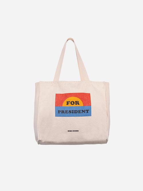 For president tote bag