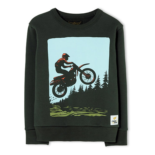 Brian moto sweater
