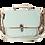 Thumbnail: Cartable mini ailé bleu/vert