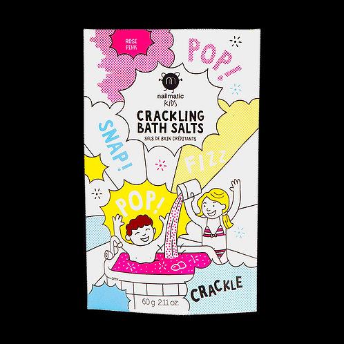 Crackling bath salts