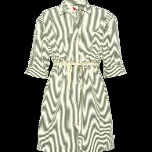 Modern olive dress