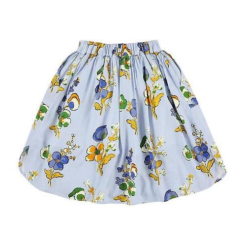 Lea appleblossom dusty blue skirt
