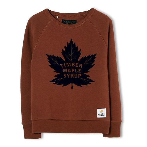 Hank maple leaf sweater