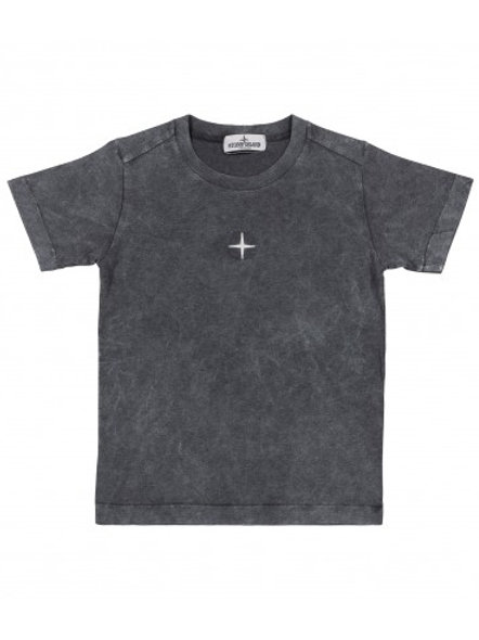 T-shirt melange logo