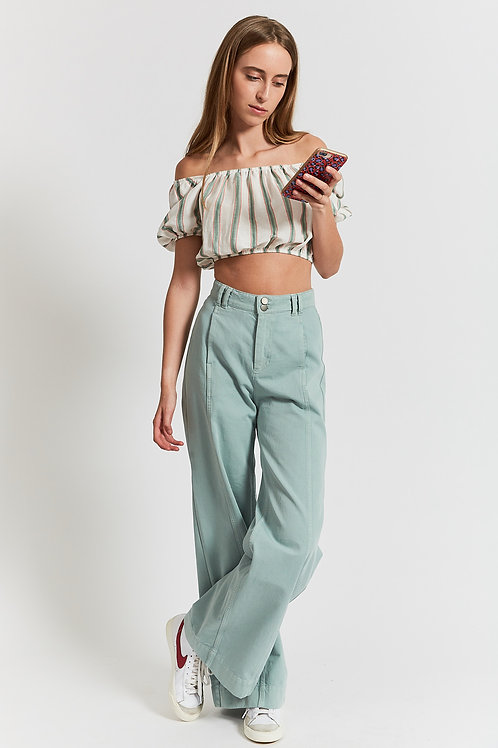 Japonica eden large trousers