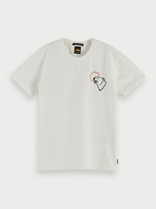 Short sleeve tee with artworks