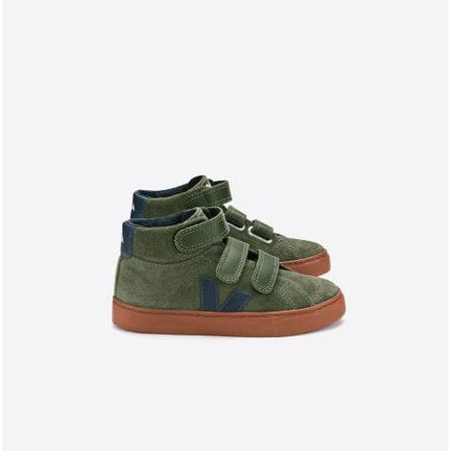 Suede olive sneaker