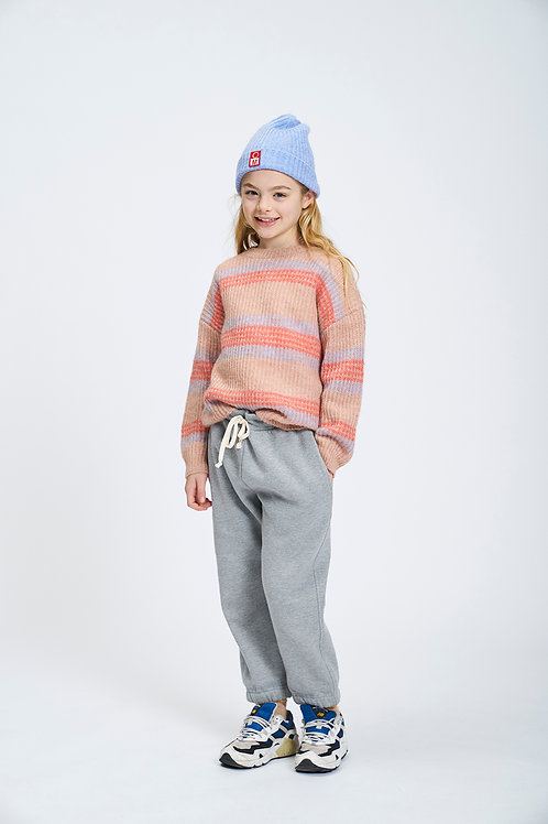Vocal knitted jumper