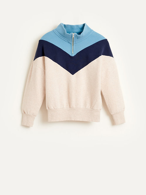 Vichy sweatshirt
