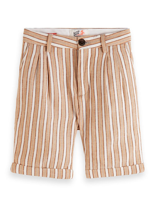 Shorts in linen-blend quality