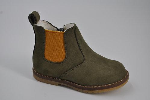 Boreas zip boots fur nubuck olive/ocre / maranello fox/marin