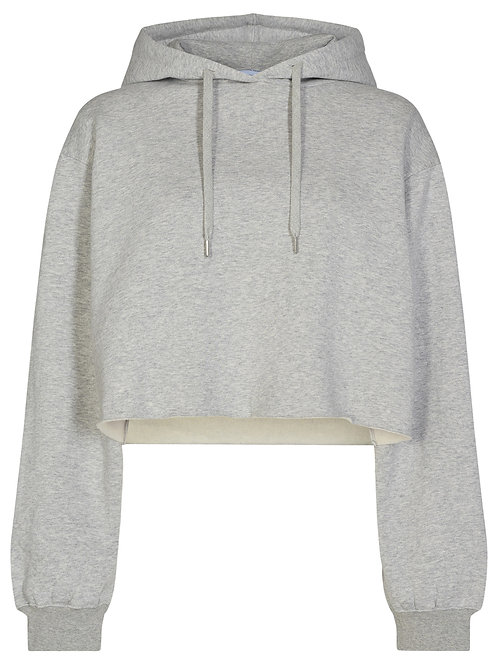 Willie embroidered cropped hoodie