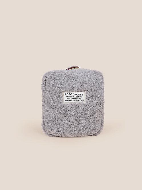 Sheepskin schoolbag