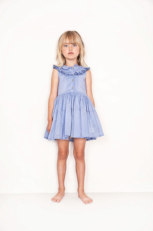 Nelly thelma bleu dress