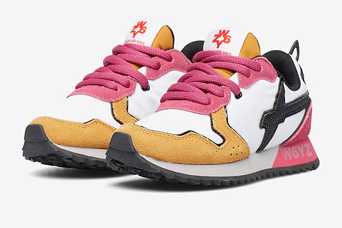 Sneaker zucca-bianco-fuxia