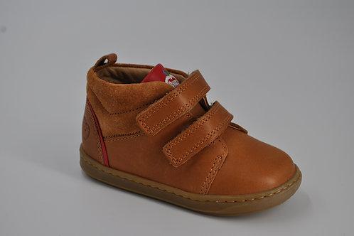 Bouba boy kezaco/velours camel/red