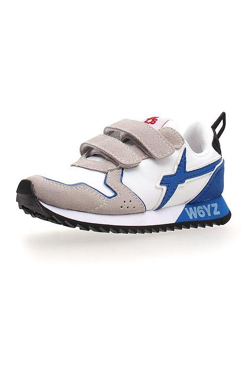 Sneakerwhite-azure