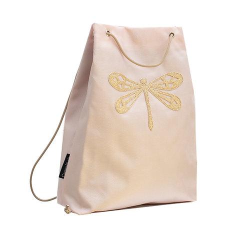 Sac piscine libellule rose/papillon bleu